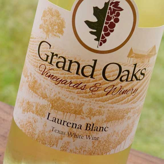 Laurena Blanc Texas Made White Wine
