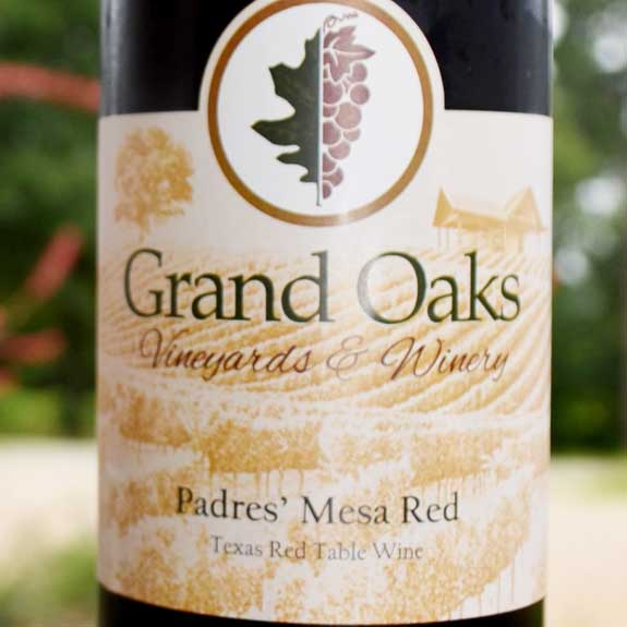 Texas Made Red Table Wine