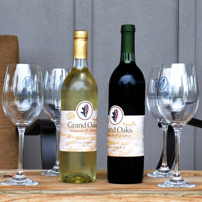 Wines made in east Texas